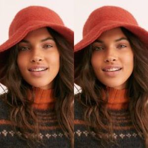 Free People Devon Wool Bucket Hat